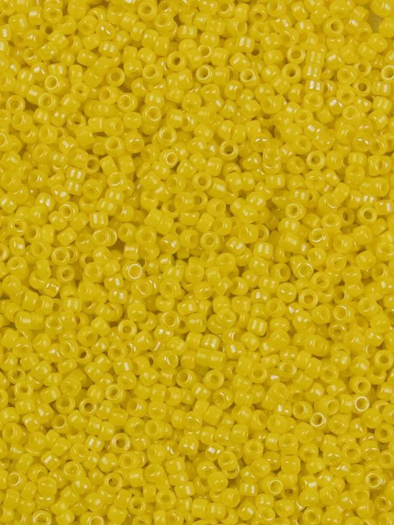 110 Miyuki Opaque Yellow Seed Beads 11-404 ~ 5 Grams