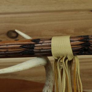 5229-3-cedar-flute-eagle-native-carved