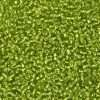 Japanese Seed Bead, Matsuno 11-14, Transparent Light Green Silver Lined, 11/0 30 grams