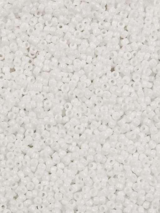 Japanese Seed Bead, Matsuno 11-402, Opaque Chalk White, 11/0
