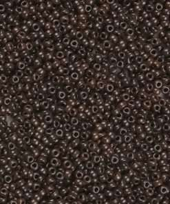 Japanese Seed Bead, Miyuki Round Rocailles 11-409, Opaque Burnt Brown, 11/0 30 grams