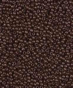 Japanese Seed Bead, TOHO 11-46/11-409B, Opaque Burnt Sienna Red, 11/0 30 grams