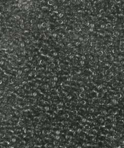 Japanese Seed Bead, Miyuki 11-152A, Transparent Dark Grey, 11/0 30 grams