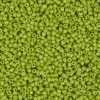 Japanese Seed Bead, Matsuno 11-411I, Opaque Lime Green, 11/0 30 grams