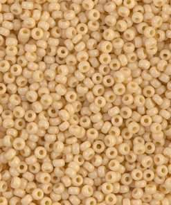 Japanese Seed Bead, Miyuki Round Rocailles 11-493/403D, Opaque Pear, 11/0