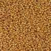 Japanese Seed Bead, Miyuki 15-D4203, Duracoat Galvanized Yellow Gold, 15/0 14 grams