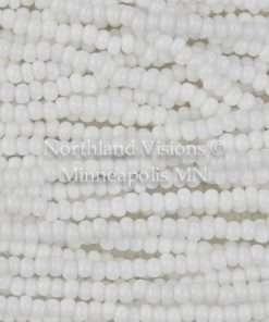 Czech Seed Bead, Preciosa 03050-11, Opaque Chalk White, 11/0 1 Hank