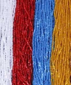 9/0 Czech 3 Cut Beads
