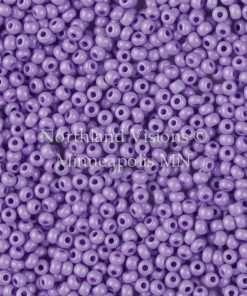 Czech Seed Bead, Preciosa 16A28-11, Opaque Terra Pearl Lilac, 11/0 1 Hank