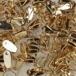 11996-Group-Gold-Earring-Fingernail-finger-nail-post-6pair