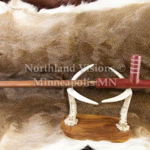2550-2-Plains-four-winds-pipestone-pipe-Catlinite-ceremonial-peacepipe-peace