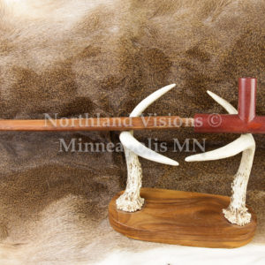 4041-2-Plains-Tpipe-pipestone-pipe-Catlinite-ceremonial-peacepipe-peace