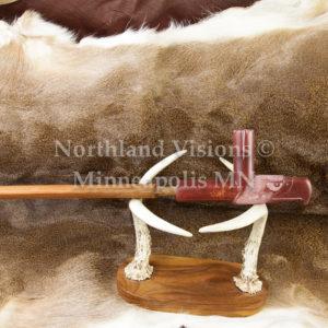 5271-2-Plains-Eagle-Head-pipestone-pipe-Catlinite-ceremonial-peacepipe-peace
