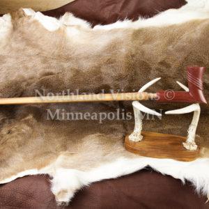 8285-2-Plains-elbow-Raised-Rings-pipestone-pipe-Catlinite-ceremonial-peacepipe-peace