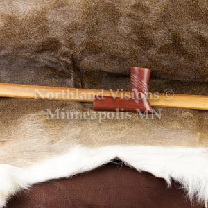 8285-3-Plains-elbow-Raised-Rings-pipestone-pipe-Catlinite-ceremonial-peacepipe-peace