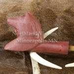 9155-Pipestone-Pipe-Wolf-Headdress-head-Cedar-Stem-peacepipe-peace-catlinite-ceremonial