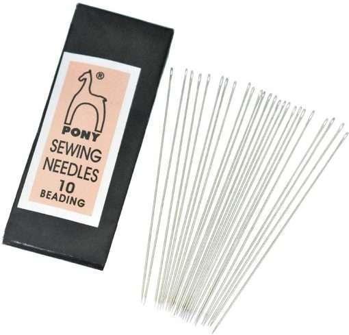 Pony Beading Needles #10 25 Pack
