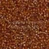 Miyuki Delica Cylinder Bead, DB1734, Transparent Beige Color Lined Topaz AB, 11/0 7 grams