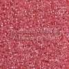 Miyuki Delica Cylinder/Seed Bead, DB0236/DB236, Ceylon Color Lined Raspberry Ice, 11/0 7 grams