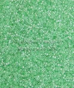 Miyuki Delica Cylinder Bead, DB0237, Ceylon Color Lined Limeade, 11/0 7 grams