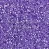 Miyuki Delica Cylinder Bead, DB0249, Ceylon Color Lined Violet, 11/0 7 grams