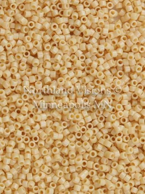 Miyuki Delica Cylinder/Seed Bead, DB1131, Opaque Pear, 11/0 7 grams