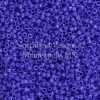 Miyuki Delica Cylinder Bead, DB1138, Opaque Cyan Blue, 11/0 7 grams