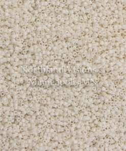 Miyuki Delica Cylinder Bead, DB1490, Opaque Bisque, 11/0 7 grams