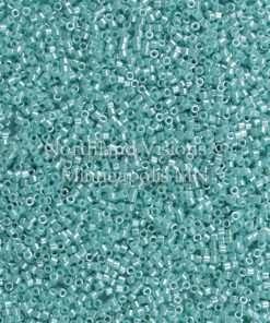 Miyuki Delica Cylinder Bead, DB1567, Opaque Sea Opal Luster, 11/0 7 grams