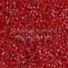 Miyuki Delica Cylinder/Seed Bead, DB0214/DB214, Opaque Dark Red AB, 11/0 7 grams