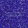 Miyuki Delica Cylinder/Seed Bead, DB0216/Db216, Opaque Royal Blue AB, 11/0 7 grams