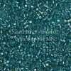 Miyuki Delica Cylinder Bead, DB1248, Transparent Caribbean Teal AB, 11/0 7 grams