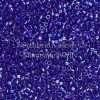 Miyuki Delica Cylinder Bead, DB0178, Transparent Sapphire AB, 11/0 7 grams