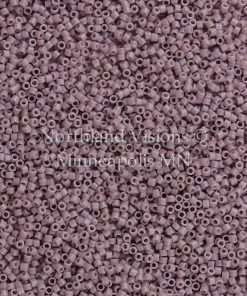 Miyuki Delica Cylinder Bead, DB0728, Opaque Lilac, 11/0 7 grams