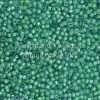Miyuki Delica Cylinder Bead, DB2053, Luminous Inside Color Mermaid Green, 11/0 7 grams