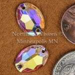 10371-Oval-16x11mm-AB-Sew-on-Crystal