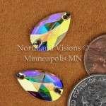 10373-Pear-18x10.5mm-AB-Sew-on-Crystal