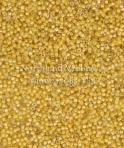 Miyuki Delica Cylinder Bead, DB2041, Luminous Inside Color Honeycomb, 11/0 7 grams