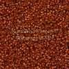 Miyuki Delica Cylinder Bead, DB2109, Duracoat Opaque Sienna, 11/0 7 grams