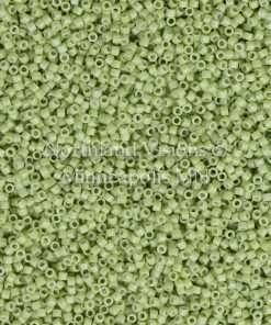 Miyuki Delica Cylinder Bead, DB2123, Duracoat Opaque Fennel Green, 11/0 7 grams
