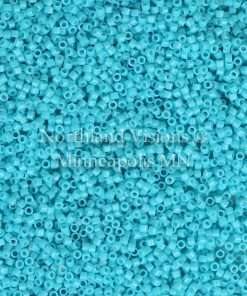 Miyuki Delica Cylinder Bead, DB2130, Duracoat Opaque Underwater Blue, 11/0 7 grams