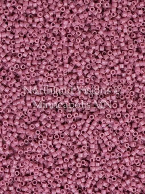 Miyuki Delica Cylinder Bead, DB2137, Duracoat Opaque Hydrangea, 11/0 7 grams