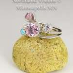 14021-Pink-Ice-mercury-Mist-Ring-Contemporary-jewelry-native-american-hand-made