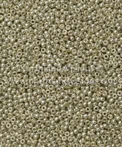 Japanese Seed Bead, Miyuki 11-D4201, Duracoat Galvanized Silver, 11/0 30 grams
