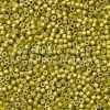 Miyuki Delica Cylinder Bead, DB1154, Galvanized Lemon Zest Matte, 11/0 7 grams