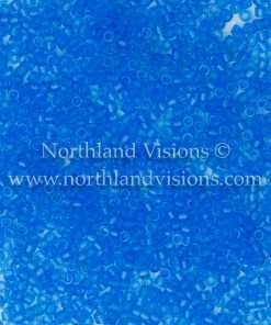 Miyuki Delica Cylinder Bead, DB0787, Transparent Aquamarine Matte, 11/0 7 grams