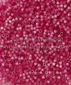 Miyuki Delica Cylinder Bead, DB1807, Silk Satin Rose, 11/0 7 grams