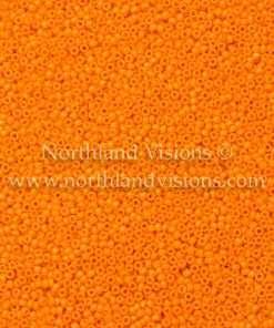 Japanese Seed Bead, 405A, Opaque Light Orange, 15/0 14 grams