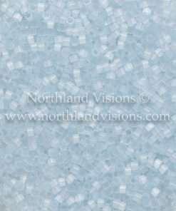 Miyuki Delica Cylinder Bead, DB0830, Silk Satin Pale Aqua Blue, 11/0 7 grams