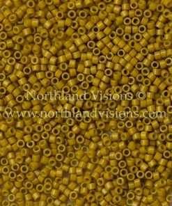 Miyuki Delica Cylinder Bead, DB2106, Duracoat Opaque Hawthorne, 11/0 7 grams